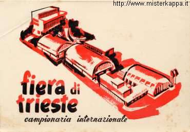 Fiera di Trieste 1952 - invito (recto)