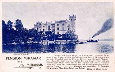 Pension 'MIRAMAR' in Miramar (recto)