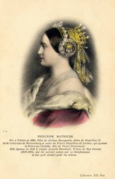 Princesse Mathilde (recto)