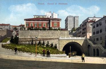 Trieste - Tunnel di Montuzza (recto)